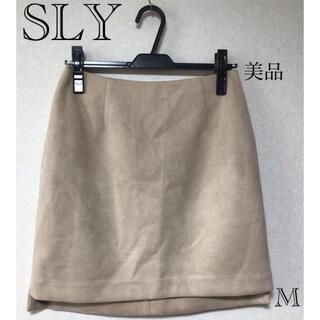 スライ(SLY)の⭐︎美品⭐︎SLY スカート sizeM(ひざ丈スカート)