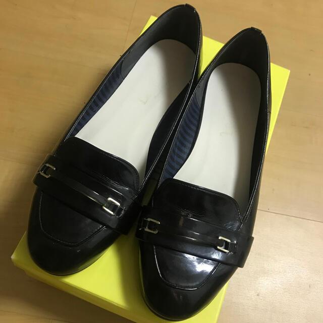 Le Talon(ルタロン)のルタロン☆定価1万円☆日本製 ローファー パンプス 黒 レディースの靴/シューズ(ローファー/革靴)の商品写真