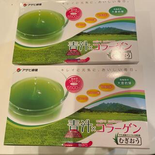 アサヒ(アサヒ)のコギ様専用緑効青汁コラーゲン 2箱 大特価 12000円(青汁/ケール加工食品)