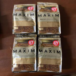 エイージーエフ(AGF)のMAXIM インスタントコーヒー 135g×4袋 送料無料(コーヒー)