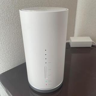 エーユー(au)のUQ WiMAX Speed Wi-Fi HOME L01s(PC周辺機器)