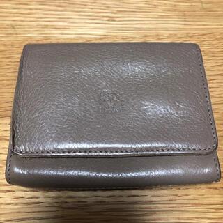 イルビゾンテ(IL BISONTE)の専用 イルビゾンテ 二つ折り財布 グレー(財布)