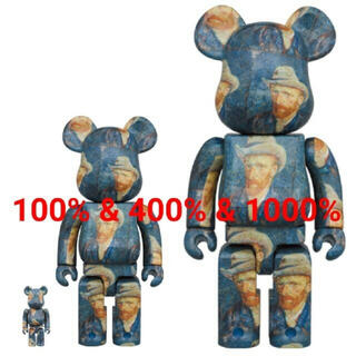 メディコムトイ(MEDICOM TOY)の新年スーパーセール ベアブリック  ゴッホ 100%&400%&1000%(キャラクターグッズ)