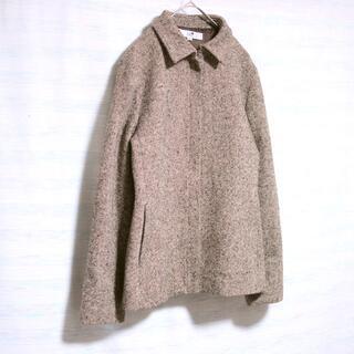 ニジュウサンク(23区)の美品 23区 ジャケット ステンカラー ウール ツイード ブラウン(テーラードジャケット)