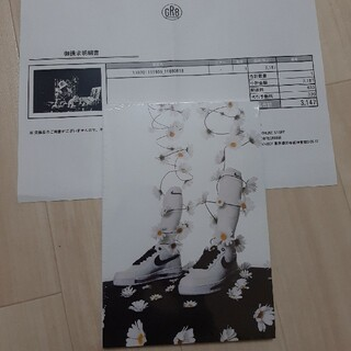 ピースマイナスワン(PEACEMINUSONE)の198201111959 gr8 パラノイズ NIKE ナイキ ジードラゴン(アート/エンタメ)