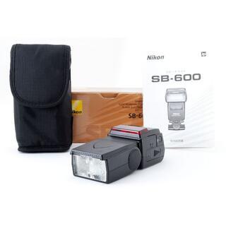 ニコン(Nikon)のニコン NIKON SB-600 スピードライト SPEEDLIGHT(ストロボ/照明)