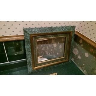 アンティーク調 鏡(壁掛けミラー)