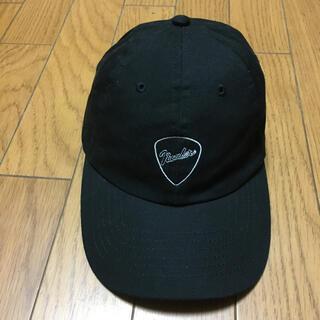 ナンバーナイン(NUMBER (N)INE)の中古ナンバーナイン黒キャップ帽子フリーサイズ使用感あり(キャップ)
