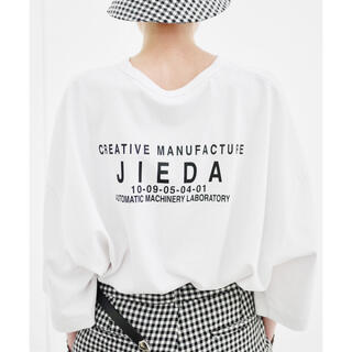 ジエダ(Jieda)のJieDa LOGO BIG T-SHIRT WHITE(Tシャツ/カットソー(半袖/袖なし))