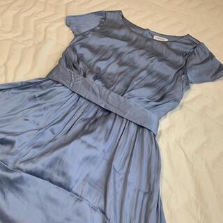 ベルメゾン(ベルメゾン)のマタニティ ドレス ワンピース サテン(マタニティワンピース)
