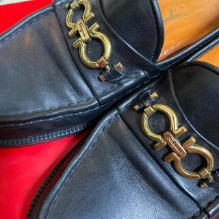 フェラガモ(Ferragamo)の専用最終値下げフェラガモ  フラットシューズ ❣️レザー 靴 レディース(ローファー/革靴)