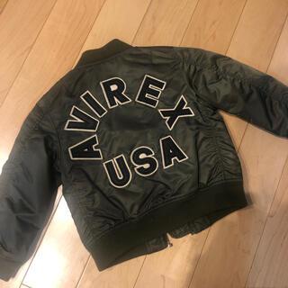 アヴィレックス(AVIREX)のアビレックスMA-1  色:カーキ(ジャケット/上着)