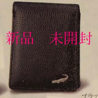 クロコダイル(Crocodile)のクロコダイル 二つ折り財布 ブラック メンズ(折り財布)