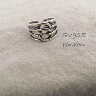スナイデル(snidel)のSV925デザインリング#03 ete アダムエロぺ エンフォルド イエナ(リング(指輪))