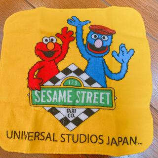 ユニバーサルスタジオジャパン(USJ)のセサミストリート ハンカチ(ハンカチ)
