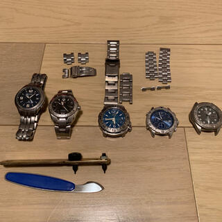 セイコー(SEIKO)の時計 ジャンク 部品取(その他)