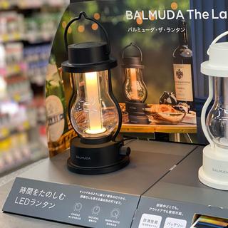 BALMUDA - ■新品■バルミューダ ランタン ブラック LED BALMUDA L02A-BK