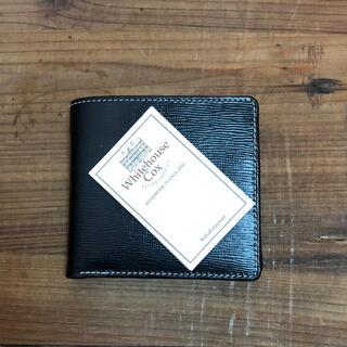 ホワイトハウスコックス(WHITEHOUSE COX)のwhitehouse  cox 二つ折りブライドルレザー(折り財布)