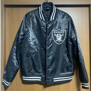 マジェスティック(Majestic)のkj着用 raiders jacket(スタジャン)
