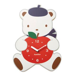 ファミリア(familiar)の【familiar】掛け時計 (完売品)(掛時計/柱時計)