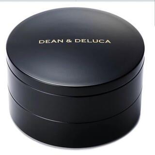 ディーンアンドデルーカ(DEAN & DELUCA)のDEAN&DELUCA 丸二段重 総黒 完売品(弁当用品)