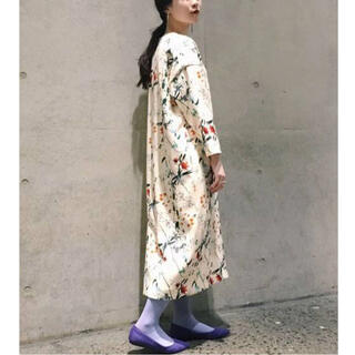 マメ(mame)の限定セール‼️美品*完売品/フラワープリントドレス(ひざ丈ワンピース)