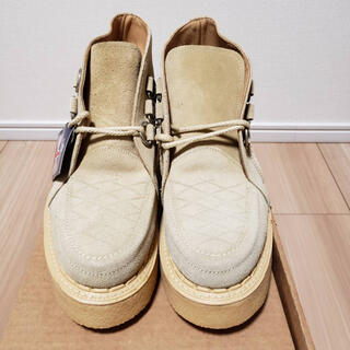 アベイシングエイプ(A BATHING APE)のABATHINGAPE GEORGECOXコラボスエードブーツ(ブーツ)