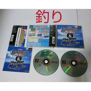 プレイステーション(PlayStation)の≪帯付・PS≫スーパーブラックバスX2&ザ・ブルーマーリン(家庭用ゲームソフト)