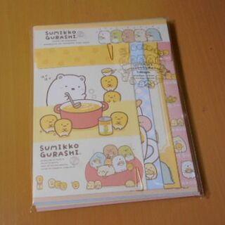 サンエックス(サンエックス)の新品・未使用♡ New すみっコぐらしレターセット(カード/レター/ラッピング)