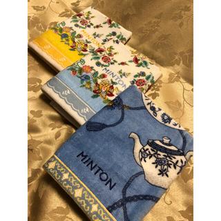ミントン(MINTON)の【MINTON】ミントン ウォッシュタオル 3枚(タオル/バス用品)