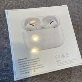 アップル(Apple)のビッグカメラ購入!AirPods Pro ☆ 翌日配送☆ 新品未使用 ☆(ヘッドフォン/イヤフォン)