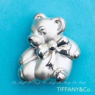 Tiffany & Co. - TIFFANY&Co. テディベア トップ部分のみ silver925