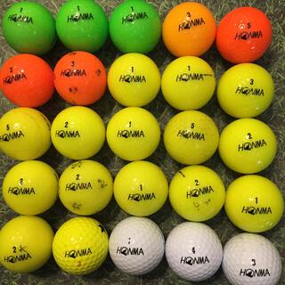 HONMA ロストボール  ③ 25球  カラー