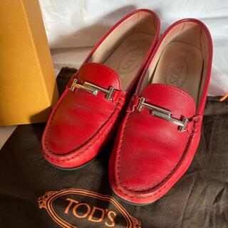 トッズ(TOD'S)のTOD'S ドライビングシューズ 23cm(ローファー/革靴)