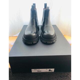 ジルサンダー(Jil Sander)のJIL SANDER ジルサンダーブーツOAMC40サイズ(ブーツ)