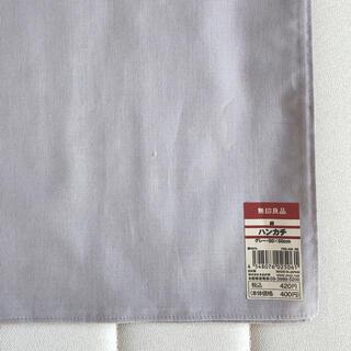 ムジルシリョウヒン(MUJI (無印良品))の無印良品 ハンカチ 無地 日本製(ハンカチ/ポケットチーフ)