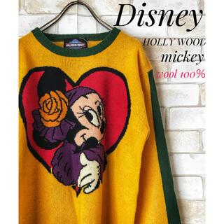 ディズニー(Disney)の新品未使用❗️HOLLYWOOD MICKEYウォルトディズニーセーター(ニット/セーター)