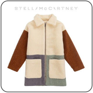 ステラマッカートニー(Stella McCartney)のテディ パッチワーク コート(ロングコート)