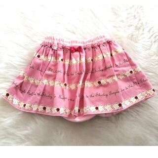 シャーリーテンプル(Shirley Temple)の美品☆シャーリーテンプル スカート 70 80 90  ピンク スカパン ブル(スカート)