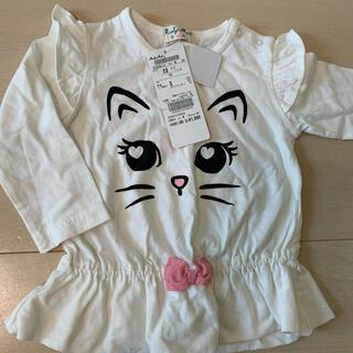 ミアリーメール(MIALY MAIL)の新品 ミアリーメイル 猫 トップス 80(Tシャツ)