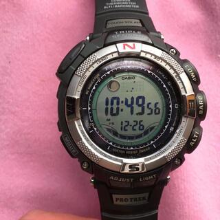 カシオ(CASIO)の美品 カシオプロトレック(腕時計(デジタル))