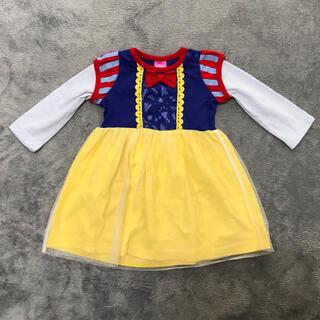 ディズニー(Disney)の80cm 白雪姫のドレスワンピース ベビー服(ワンピース)