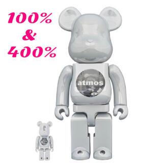 アトモス(atmos)のBE@RBRICK atmos WHITE CHROME 100%&400%(その他)