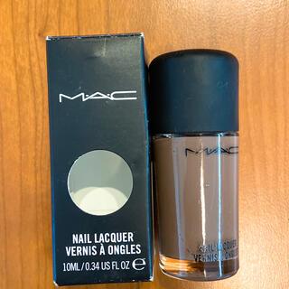 マック(MAC)の2、3回のみ使用 コーヒーブレイクという可愛い色(マニキュア)