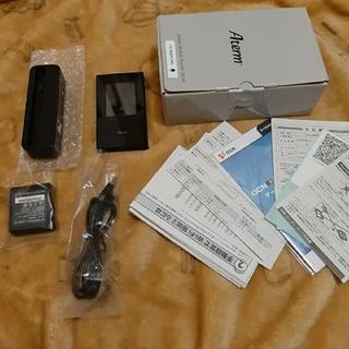 エヌイーシー(NEC)の廃盤 NEC MR04LN 3B モバイルルーター グレードル付き(PC周辺機器)