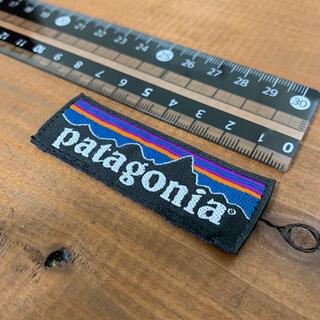 パタゴニア(patagonia)の美品 Patagonia タグ ビッグ ワッペン 正規品(各種パーツ)
