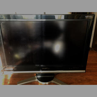 アクオス(AQUOS)の液晶テレビアクオス32型 ジャンク品 (テレビ)
