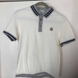 モンクレール(MONCLER)の【美品】モンクレール ポロシャツ メンズ(ポロシャツ)