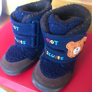 ホットビスケッツ(HOT BISCUITS)のミキハウス  ホットビスケッツ  ブーツ(ブーツ)