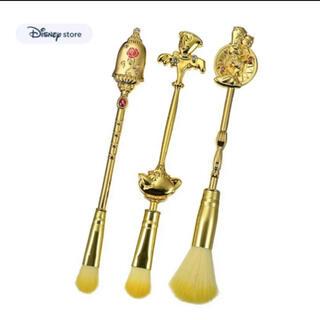 ディズニー(Disney)の美女と野獣 メイクブラシ(コフレ/メイクアップセット)